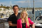 Dr. Niccole, a doctor in Newport Beach, has given his daughter Brittany breast implants for her 18th birthday.  Pictured is his other daughter Charm who gets facials and botox from her father on a regular basis.