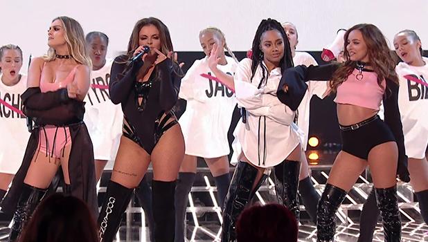 �Hoerige outfits� Little Mix zorgen voor ophef