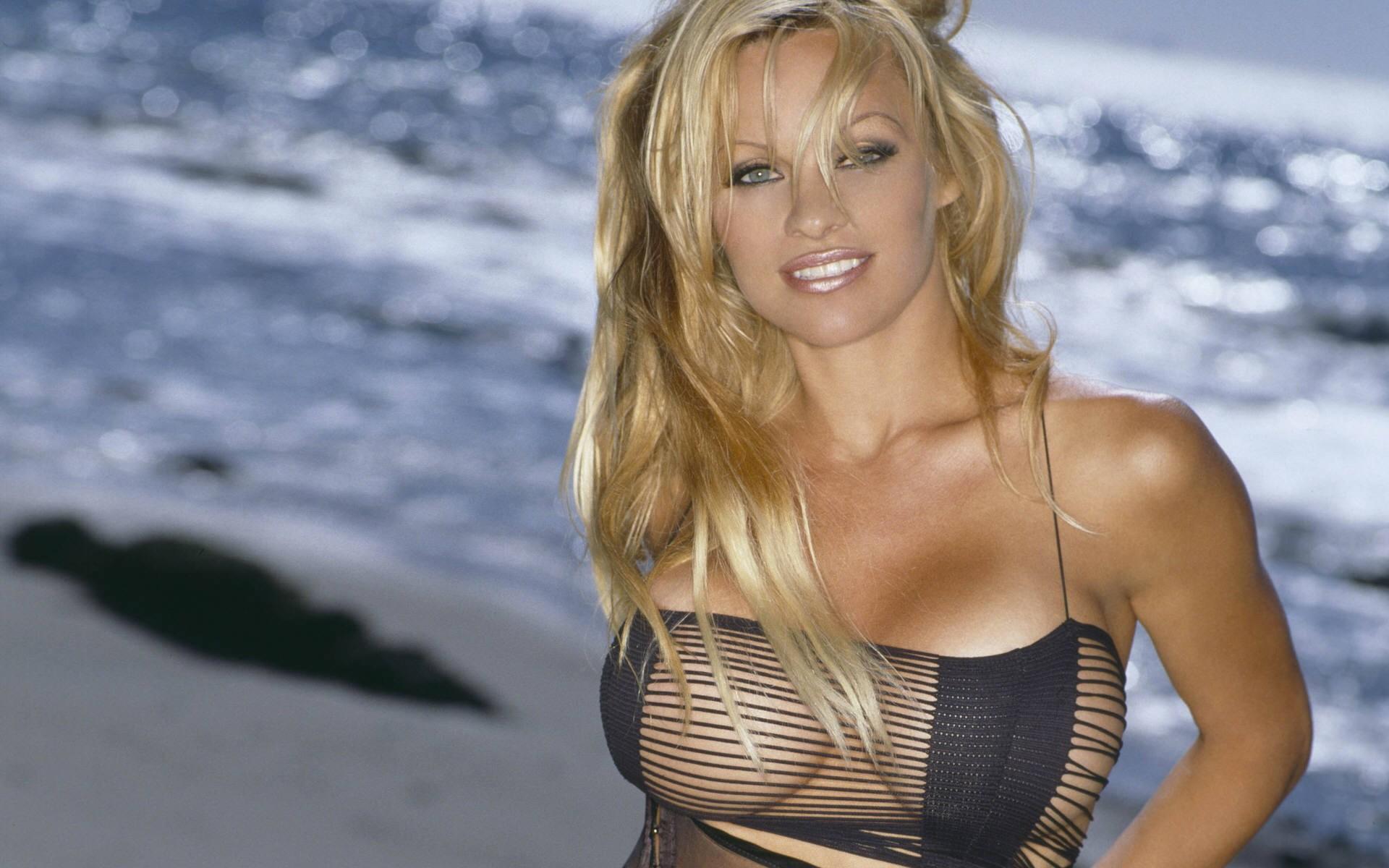 Pamela Anderson geeft pornoles