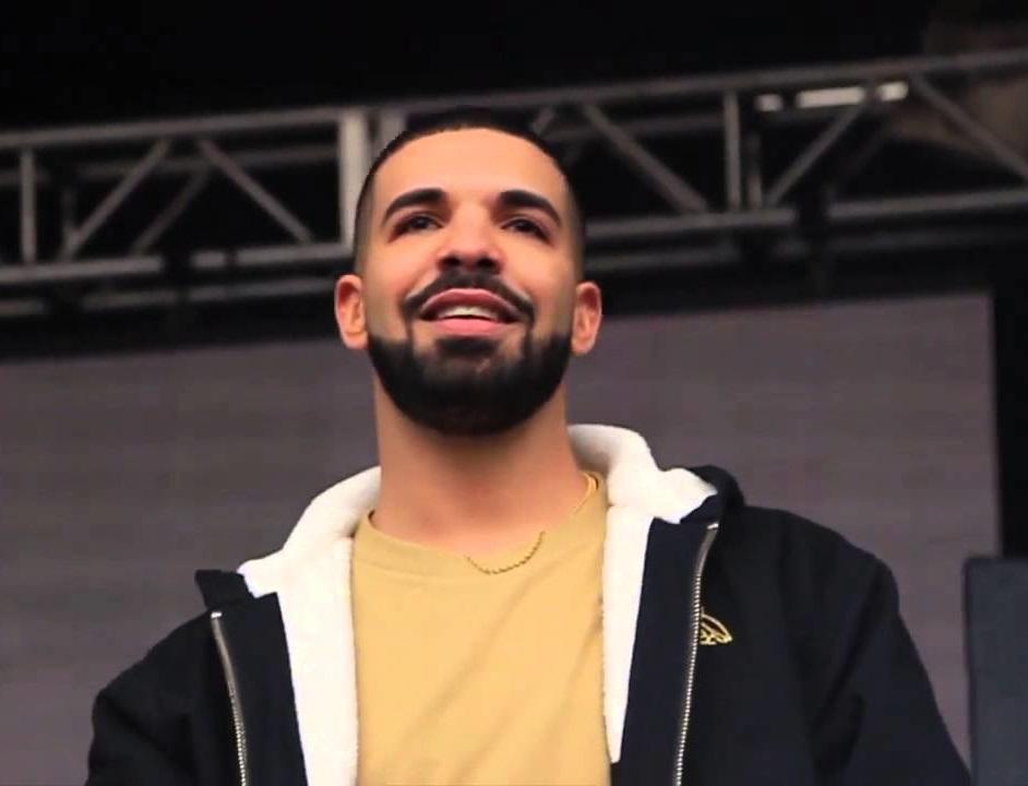 Drake schikt met sekspartner